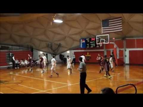 Clearwater Central Catholic Basketball 4th Quarter Comeback Against Brooks-Debartolo 1/18/2013