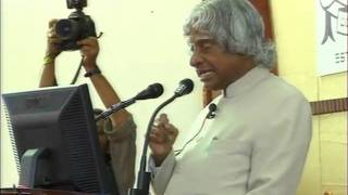 Dr. Kalam Addressing the Gathering - Part 1