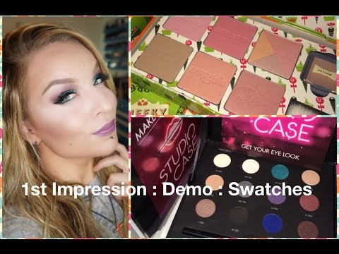 1st Impression : Demo : Make Up For Ever Studio Case & Benefit Cheeky Sweet Spot
