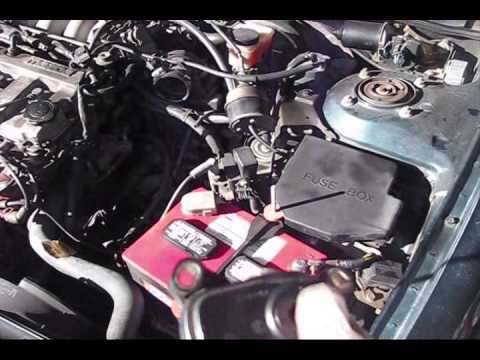 Mazda 626 Vehicle Speed Sensor Location Removal part 1