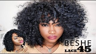 WATCH ME SLAY THIS WIG - BESHE Wig Lace 45 hair transformation + Review