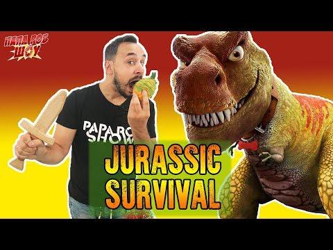 Папа Роб: обзор игры Jurassic Survival ! Часть 2