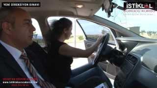 İstiklal Sürücü Kursu Yeni Direksiyon Sınavı Filmi