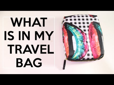 WHAT'S IN MY TRAVEL BAG ?
