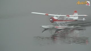 STM Beaver With Floats - Maiden Flight In Foggy Conditions
