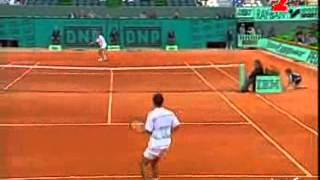 Pete Sampras great shots selection against Paul Haarhuis (Roland Garros 1994 3R)
