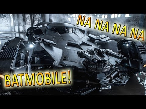 Zack Snyder Releases Official Batmobile Pic