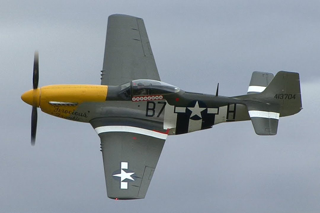 North American P 51d Mustang Quot Ferocious Frankie Quot Youtube