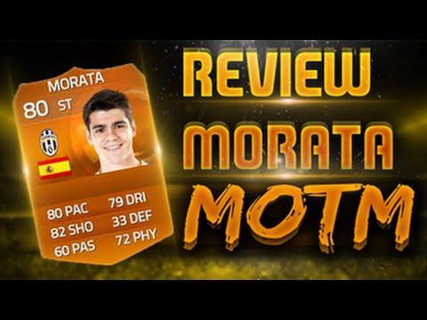 Alvaro Morata Fifa 15 Fifa 15 i Review Morata 80