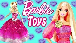 BARBIE TOY EPISODES ★ Fashion Styles Play Doh Mermaids Frozen Doll Videos