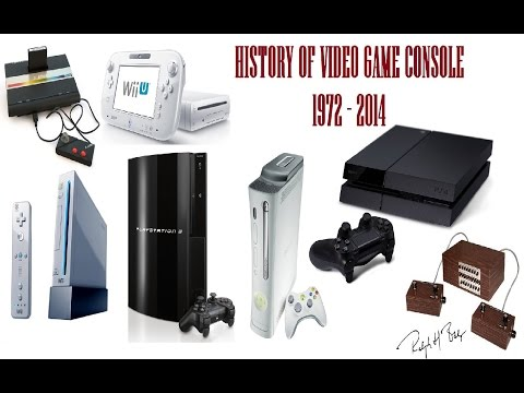 The History Of Video Game Console 1972   2014