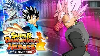 SUPER SAIYAN ROSE GOKU BLACK DRAWS AWAKENS!!! Super Dragon Ball Heroes World Mission Gameplay!