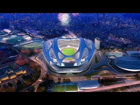 Tokyo Olympic stadium gets new, cheaper design