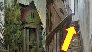 The abandoned houses  - Mysterious strange abandoned houses - Haunted Abandoned Mansion