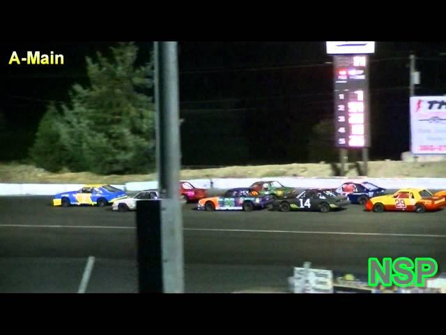 8-11-2012 Mini Stock A-Main South Sound Speedway