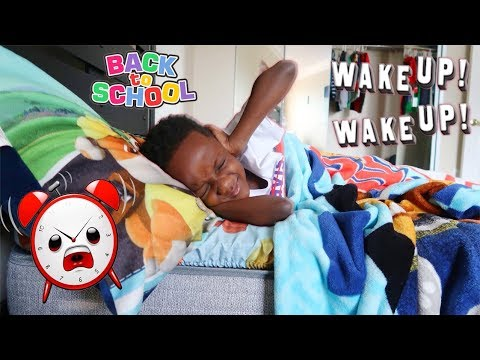 Super Siah First Day of School Morning Routine!
