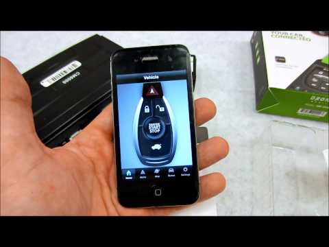 A quick look at the Compustar Drone DR3100 smartphone app module