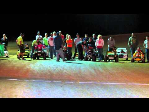 9-28-2013 Modified Power Wheels Race Carolina Speedway Lakeview SC