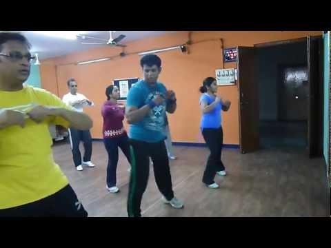 ZUMBA SALSA Le Le Mazaa Le Wanted dance aerobics ZIVIS FUN-N...