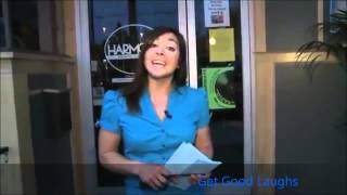 Cat Interrupts News Reporter By Climbing On Her Shoulders | Must SEE! | GGL