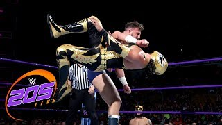 Gran Metalik vs. Drew Gulak: WWE 205 Live, May 22, 2018
