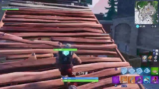 1st Fortnite gameplay on my channel