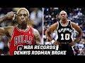 Lagu NBA Records DENNIS RODMAN Has Broken! Rebounding Machine!