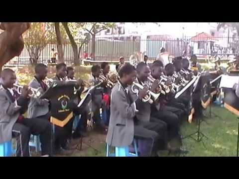 Mbale Schools Band play 'The Contestor' by T.J. Powell