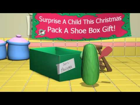VeggieTales: Larry and the shoe box surprise