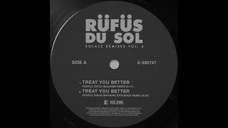 RÜfÜs Du Sol Treat You Better Purple Disco Machine Extended Remix Official Audio