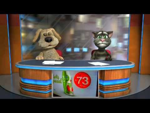 Talking Tom & Ben News noticias uruguayas