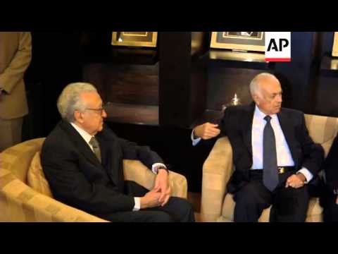 UN envoy on Syria holds talks with Russia's Lavrov and Arab League chief