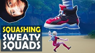 SQUASHING SWEATY SQUADS | HIGH KILL FUNNY GAME