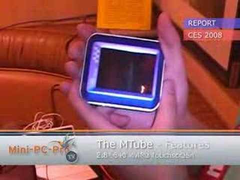 """MTube: 2.8"""" VGA pocketable Linux prototype"""