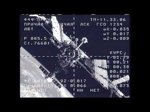 Expedition 21 Docking to ISS
