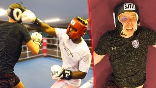 I Sparred KSI Before He Beat Logan Paul (FULL FOOTAGE)