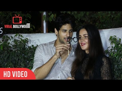 Katrina Kaif And Siddharth Malhotra | Baar Baar Dheko | Wrap Up Party