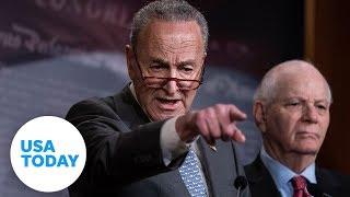 Senate Democrats speak before Trump team continues defense in impeachment trial (LIVE)   USA TODAY