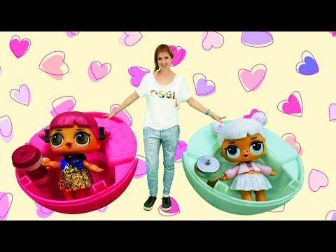 Детский садик Капуки Кануки: Куклы Лол у Маши.