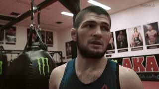 Short movie with Khabib Nurmagomedov talking about Future and Life principles