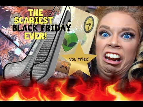 THE SCARIEST BLACK FRIDAY HAUL EVER!