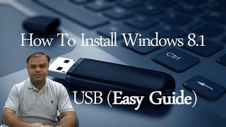 How to Install Windows 8.1 from USB Drive  in computer (Desktop or Laptop) in hindi