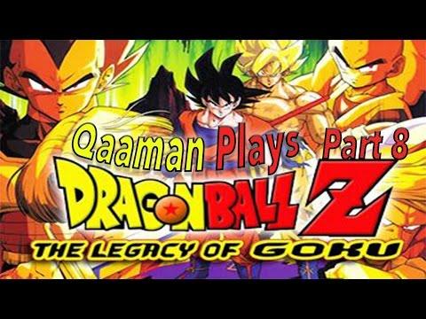 Qaaman Plays DBZ Legacy Of Goku : Part 8 (The Saiyan Fights)