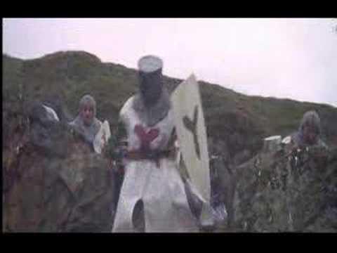 Monty Python Bunny Scene video