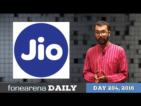 Reliance Jio Commercial rollout, Samsung Galaxy Note 7 Iris scanner demo - FoneArena Daily