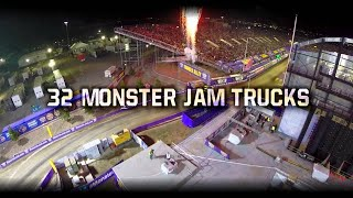 Monster Jam World Finals XV Racing On FOX Sports 1 - June 8, 2014 - Las Vegas, NV
