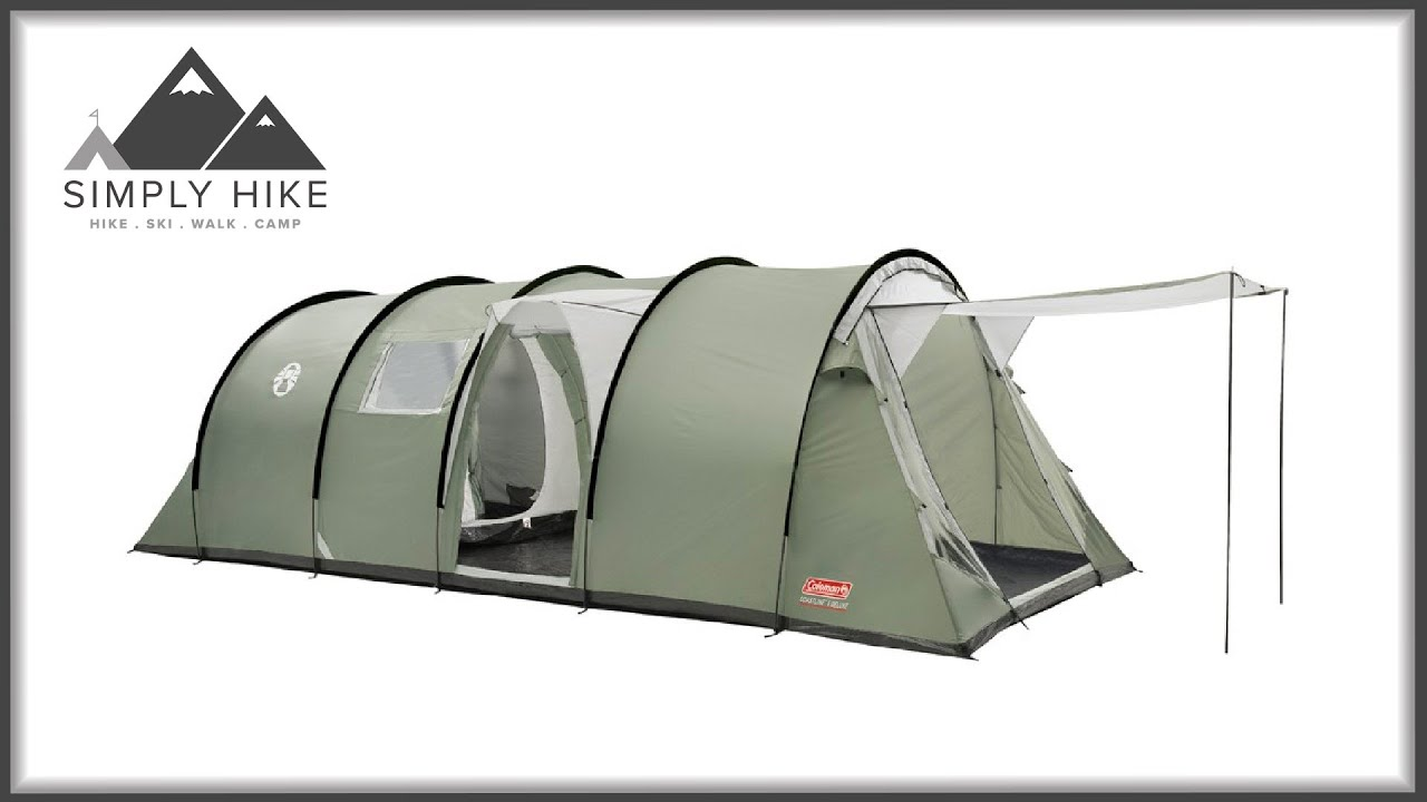 Coleman Coastline 8 Deluxe Www Simplyhike Co Uk Youtube