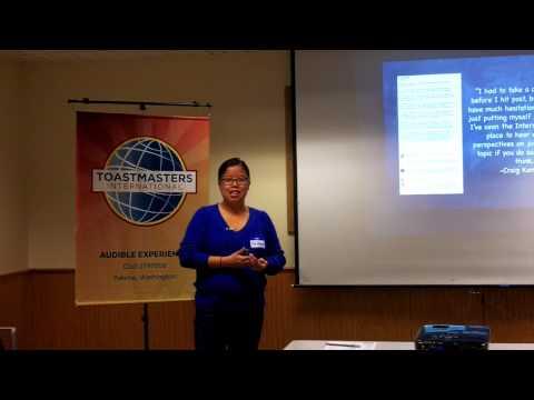 "Guest Speaker, Mai Hoang Yakima Herald talks on ""Social Media, 10/12/13"