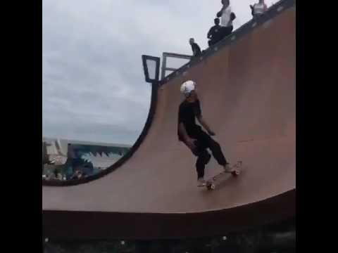 Nass qualifiers @gabrielmachadosk8 📽: @claykreiner | Shralpin Skateboarding