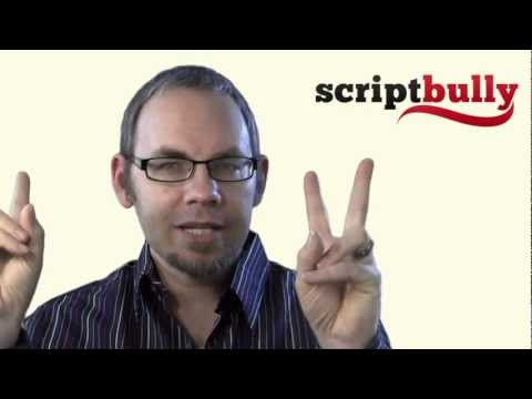 How to Write a Script That Doesn't Suck - Secret to Writing a Screenplay That's Awesome